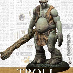 Harry Potter Miniatures Adventure Game: Troll Adventure Pack Espanol
