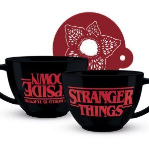 Stranger Things Taza The World Is Turning Upside Down