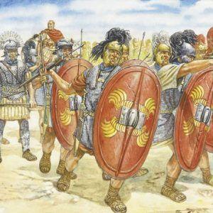 1:72 ROMAN INFANTRY (I-II CENTURY B.C.)  ITA6021