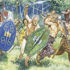 1:72 GAULS WARRIORS (I-II CENTURY B.C.)  ITA6022