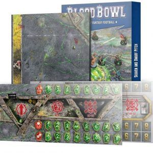 Blood Bowl: Skaven And Dwarf Pitch (Inglés) (200-06)