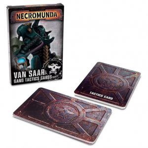 Necromunda: Van Saar Gang Tactics Cards (Second Edition) (Inglés) (300-18)
