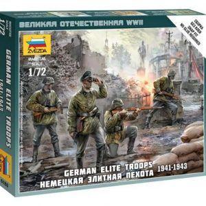 1:72 German Elite Troops 1939-43  ZVE6180