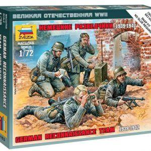 1:72 German Reconnaissance Team  ZVE6153