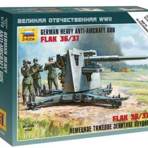 1:72 German 88mm Flak 36/37  ZVE6158