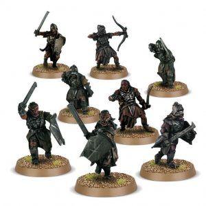 Middle Earth Strategy Battle Game: Uruk-hai Scouts (Venta Directa)