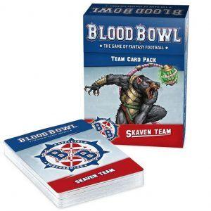 Blood Bowl: Skaven Team Card Pack (Inglés) (200-41)