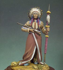 Andrea Miniatures: Sioux Chief