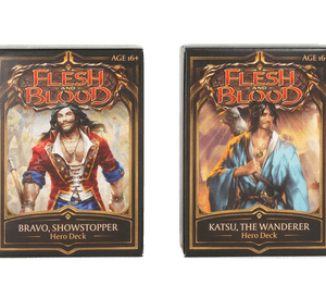 FLESH AND BLOOD WELCOME TO RATHE HERO DECK – Rhinar, Reckless Rampage