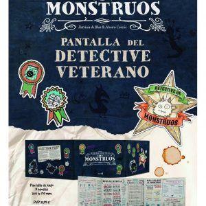 Pequeños Detectives De Monstruos: Pantalla Del Detective Veterano + Copia Digital