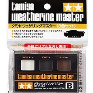 Tamiya Weathering Set B – Snow/Smut/Rust (87080)