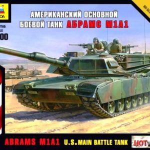 1:100 Zvezda: Abrams M1 A1 (7405)