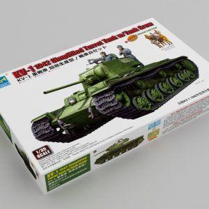 1:35 Trumpeter: KV-1 1942 Simplified Turret Tank W/Tank Crew