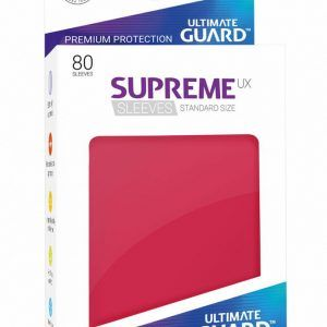 Ultimate Guard: Fundas Supreme UX Color Rojo (80 Unidades)