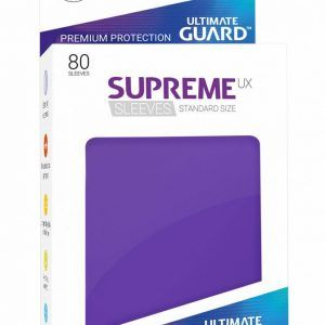 Ultimate Guard: Fundas Supreme UX Color Violeta (80 Unidades)