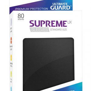 Ultimate Guard: Fundas Supreme UX Color Negro (80 Unidades)