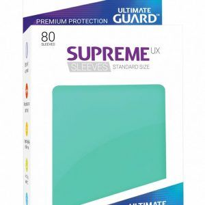 Ultimate Guard: Fundas Supreme UX Color Turquesa (80 Unidades)