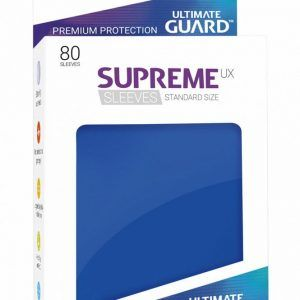 Ultimate Guard: Fundas Supreme UX Color Azul (80 Unidades)