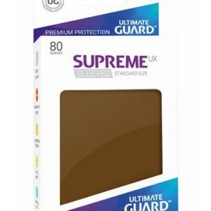 Ultimate Guard: Fundas Supreme UX Color Marron (80 Unidades)