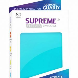 Ultimate Guard: Fundas Supreme UX Color Aguamarina (80 Unidades)