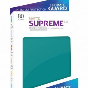 Ultimate Guard: Fundas Supreme UX Mate Color Azul Gasolina (80 Unidades)