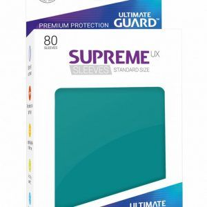 Ultimate Guard: Fundas Supreme UX Color Azul Gasolina (80 Unidades)