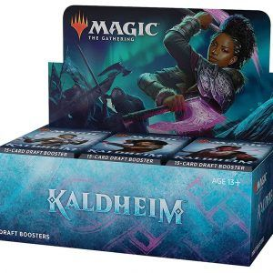 Preventa – Magic The Gathering: Kaldheim Draft Booster Display (36 Packs) – Ingles – Lanzamiento 29-01-21