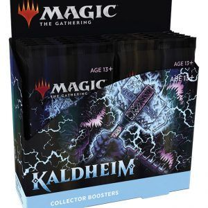 Preventa – Magic The Gathering: Kaldheim Collector Booster Display (12 Packs) – Inglés – Lanzamiento 05-02-21