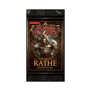 Flesh & Blood TCG: Welcome To Rathe Unlimited Booster – EN