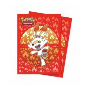 Ultra Pro: Fundas Pokémon Sword And Shield Galar: Scorbunny. Tamaño Standard 66x91mm. Ultra Pro. 65 Unidades