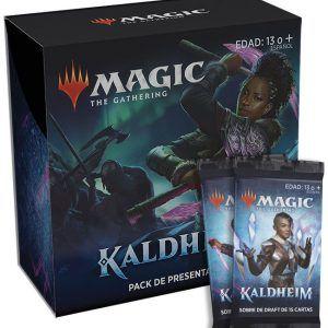 Preventa – Magic The Gathering: Kaldheim  Pack De Presentación + 2 Sobres – Español – Lanzamiento 29-01-21