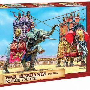 1:72 Zvezda: War Elephants (8011)
