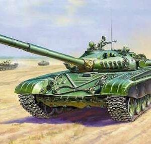1:100 Zvezda: T-72 (7400)