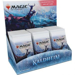 Preventa – Magic The Gathering: Kaldheim Set Booster Display (30 Packs) – Ingles – Lanzamiento 05-02-21