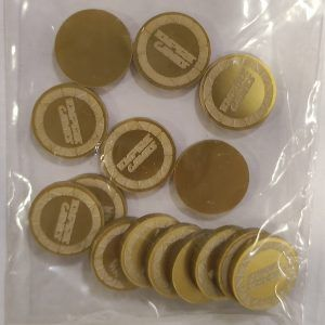 15x Tokens / Monedas Doradas Empire Games