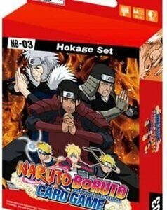 Naruto Boruto Card Game – Hokage Set (Ingles)