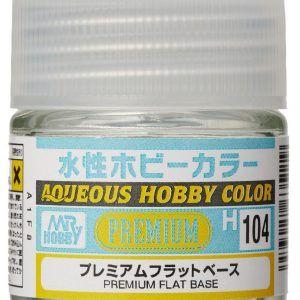 H-104 Premium Flat Base Pintura Acrílica Gunze – Hobby Color