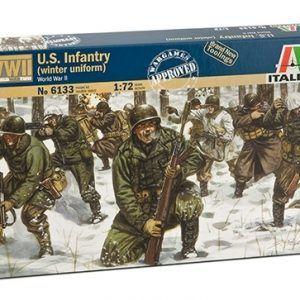 1:72 Italeri: WWII- US INFANTRY (WINTER UNIFORM) (ITA6133)