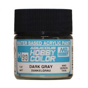 H-513 Dark Gray (Flat) Pintura Acrílica Gunze – Hobby Color