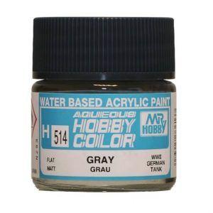 H-514 Gray (Flat) Pintura Acrílica Gunze – Hobby Color
