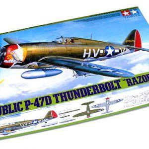 1:48 Tamiya: P-47D THUNDERBOLT (61086)