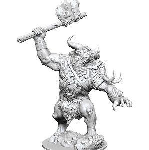 Magic The Gathering Unpainted Miniatures: Borborygmos (Cyclops)