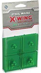 X-Wing: Set De Peanas Y Clavijas Verdes