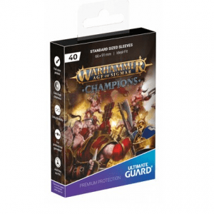 Ultimate Guard: Fundas Warhammer  – Champions 'CHAOS VS. ORDER'