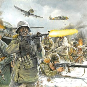 1:72 Italeri: WWII- GERMAN INFANTRY (Winter Uniform) (ITA6151)