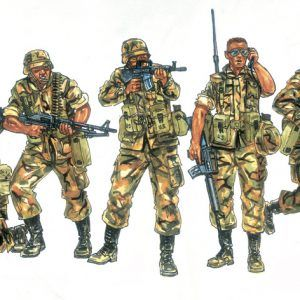 1:72 Italeri: U.S. Infantry (1980s) (ITA6168)