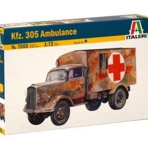 1:72 Italeri: KFZ. 305 AMBULANCE (ITA7055)