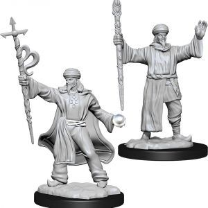 Dungeons & Dragons:  Human Wizard Male