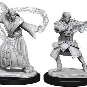 Dungeons & Dragons: Elf Wizard Male
