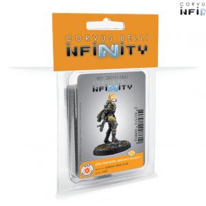 Preventa – Infinity: Aïda Swanson, Submondo Smuggler (Submachine Gun) (0861) – Lanzamiento 26/02/21